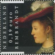 Nederland NL 2431  2006 Rembrandt 39 cent  Gestempeld