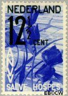 Nederland NL 247  1932 A.N.V.V. 12½+2½ cent  Gestempeld