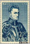 Nederland NL 255  1933 Prins Willem I 12½ cent  Gestempeld