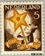 Nederland NL 262  1933 Drie-koningenfeest 5+3 cent  Gestempeld