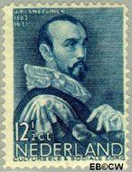 Nederland NL 277  1935 Bekende personen 12½+3½ cent  Gestempeld