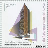 Nederland NL 2806  2011 Stad van Nederland 1 cent  Gestempeld