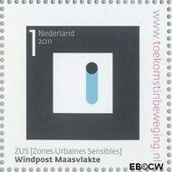 Nederland NL 2811  2011 Stad van Nederland 1 cent  Gestempeld