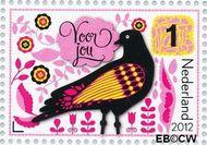 Nederland NL 2914a  2012 Da's toch een kaart waard 1 cent  Gestempeld
