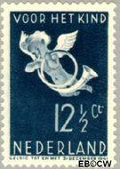 Nederland NL 292  1936 Bazuinengel 12½+3½ cent  Gestempeld