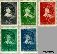 Nederland NL 300#304  1937 Kinderportret Frans Hals  cent  Postfris