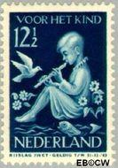 Nederland NL 317  1938 Kind en muziek 12½+3½ cent  Gestempeld