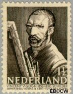 Nederland NL 350  1940 Bekende personen 1½+1½ cent  Gestempeld