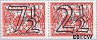 Nederland NL 356a  1940 Cijfer type 'Guilloche' of ' tralie' div cent  Postfris