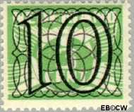 Nederland NL 359  1940 Cijfer type 'Guilloche' of ' tralie' 10 cent  Gestempeld