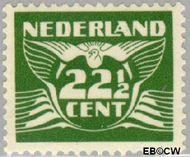 Nederland NL 387  1941 Vliegende Duif 22½ cent  Gestempeld