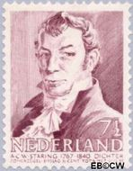 Nederland NL 396  1941 Bekende personen 7½+3½ cent  Gestempeld