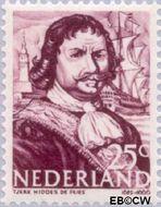 Nederland NL 419  1943 Zeehelden 25 cent  Gestempeld