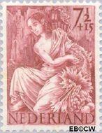 Nederland NL 452  1946 Nationale-hulpzegel 7½+15 cent  Postfris