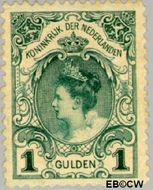 Nederland NL 49  1898 Koningin Wilhelmina- Inhuldiging 100 cent  Gestempeld