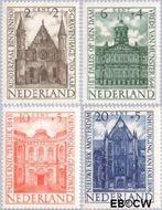 Nederland NL 500#503  1948 Paleizen   cent  Postfris