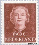 Nederland NL 532  1949 Koningin Juliana- Type 'En Face' 60 cent  Gestempeld