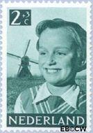 Nederland NL 573  1951 Foto's van kinderen 2+3 cent  Gestempeld