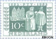 Nederland NL 590  1952 Postzegeljubileum 10 cent  Gestempeld