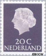 Nederland NL 621b  1967 Koningin Juliana- Type 'En Profile' 20 cent  Postfris