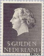 Nederland NL 639  1955 Koningin Juliana- Type 'En Profile' 500 cent  Gestempeld