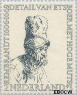 Nederland NL 671  1956 Rembrandt 2+3 cent  Gestempeld