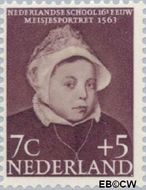 Nederland NL 685  1956 Kinderportretten 7+5 cent  Postfris