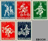 Nederland NL 715#719  1958 Kinderspel   cent  Gestempeld