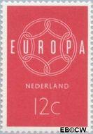 Nederland NL 727  1959 C.E.P.T.- Ketting 12 cent  Gestempeld
