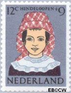 Nederland NL 750  1960 Klederdrachten 12+9 cent  Gestempeld