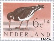 Nederland NL 753  1961 Vogels 6+4 cent  Postfris