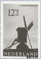 Nederland NL 789  1963 Molens 12+8 cent  Gestempeld