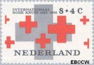 Nederland NL 797  1963 Rode Kruis 8+4 cent  Gestempeld