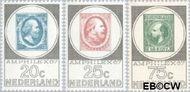 Nederland NL 886#888  1967 Postzegeltentoonstelling Amphilex  cent  Postfris