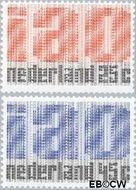 Nederland NL 918#919  1969 I.A.O.  cent  Postfris