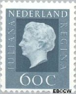 Nederland NL 947  1969 Koningin Juliana- Type 'Regina' 60 cent  Postfris