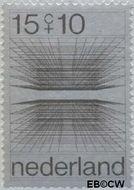 Nederland NL 966  1970 Computertekeningen 15+10 cent  Gestempeld