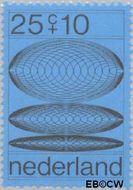Nederland NL 968  1970 Computertekeningen 25+10 cent  Postfris