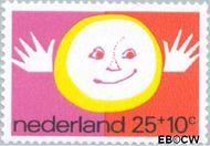 Nederland NL 998  1971 Elementen van de Kinderwereld 25+10 cent  Gestempeld