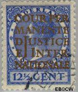 Nederland NL D13  1934 Cour Permanente de Justice 12½ cent  Gestempeld