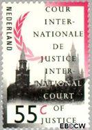 Nederland NL D48  1989 Cour Internationale de Justice 55 cent  Gestempeld
