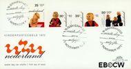 Nederland NL E122  1972 Prinsen  cent  FDC zonder adres