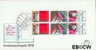 Nederland NL E170a  1978 Leren  cent  FDC zonder adres