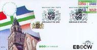 Nederland NL E466  2002 Provincie- zegel Utrecht  cent  FDC zonder adres
