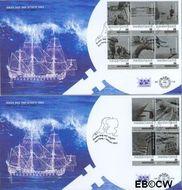 Nederland NL E478ab  2003 Nederland en het water  cent  FDC zonder adres