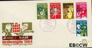 Nederland NL E69  1964 Hobby's  cent  FDC zonder adres