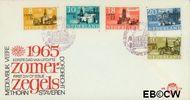 Nederland NL E74  1965 Steden   cent  FDC zonder adres