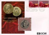 Nederland NL ECU009  1995 Nobelprijswinnaars  cent  Postfris