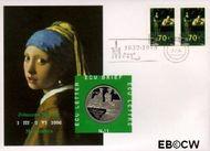 Nederland NL ECU011  1996 Vermeer, Johannes  cent  Postfris