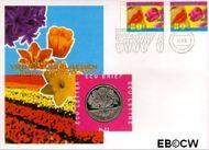Nederland NL ECU012  1996 Voorjaarsbloemen  cent  Postfris